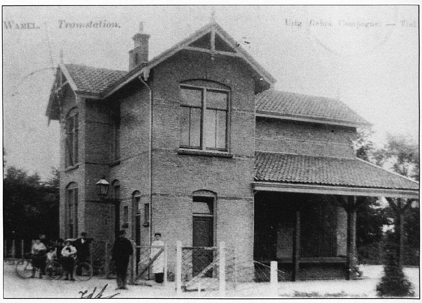 Het tramstation vond een roemloos einde in 1945, toen het verwoest werd door een vliegende bom die op het pand ernaast viel.