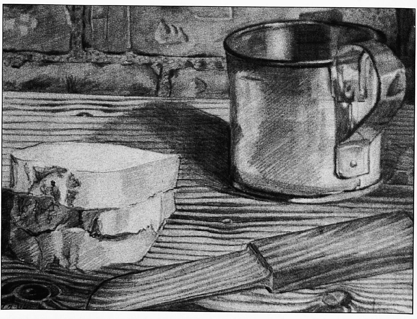 Tekeningen, gemaakt door Ds. Pennings in de Arnhemse Koepel gevangenis.