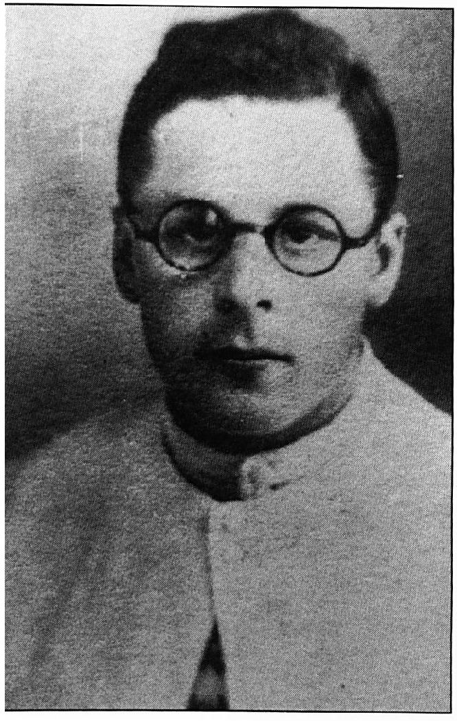 Pater van Gelder, die op 9 december 1944 in een Japans gevangenkamp overleed aan de ontberingen.