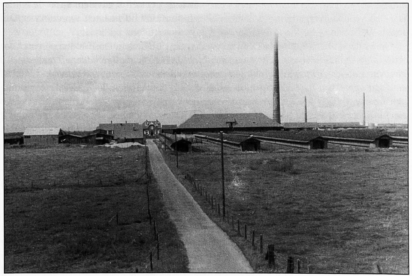 Veel inwoners van Wamel werkten op de steenfabriek De Hul.