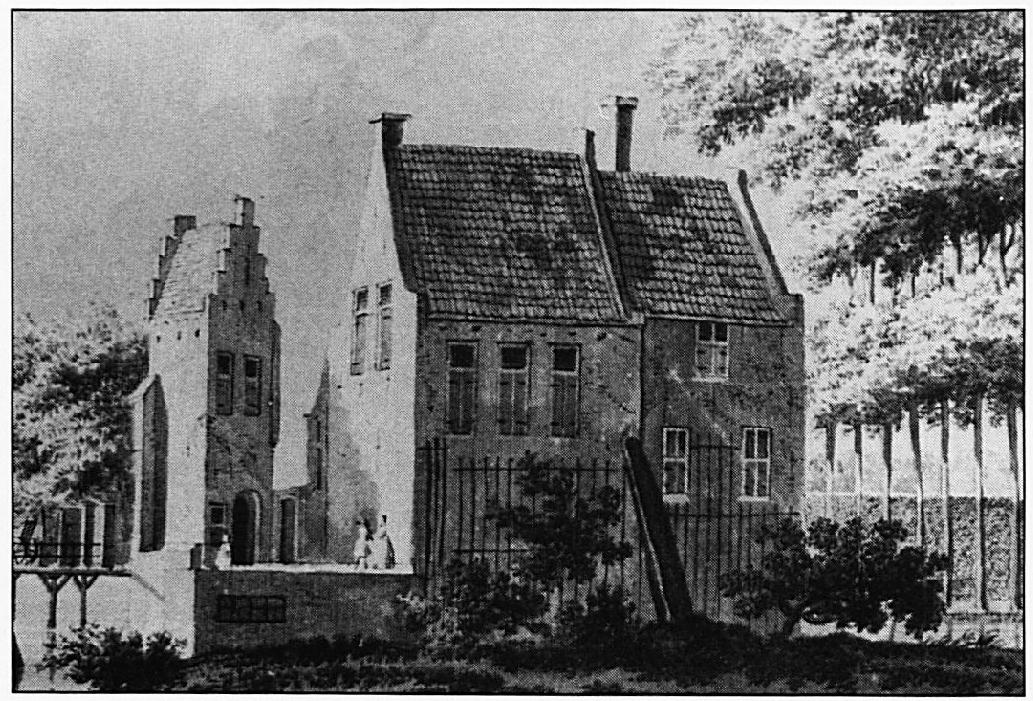 De Lakenburg in de zeventiende eeuw.