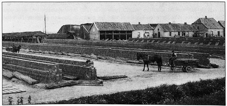 De Wamelse oven voordat de vlamoven gebouwd werd.