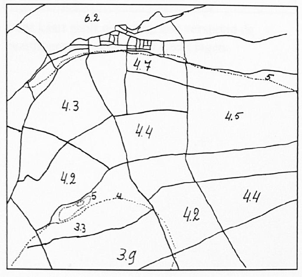 Op het bovenste kaartje is de ligging van de stroomrug onder Wamel aangegeven. Het onderste kaartje toont de huidige hoogteverschillen