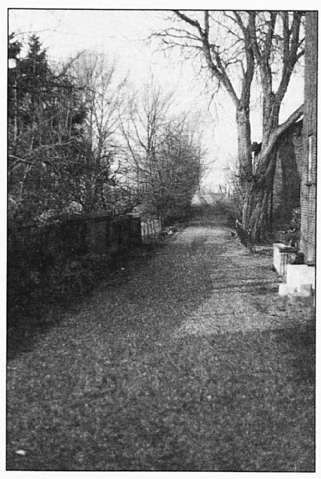 De Oude Waalsteeg; dit modderpad was eeuwenlang de hoofdverbindingsweg met Tiel. Er zijn duidelijke aanwijzingen dat deze weg reeds in de Romeinse tijd in gebruik was.