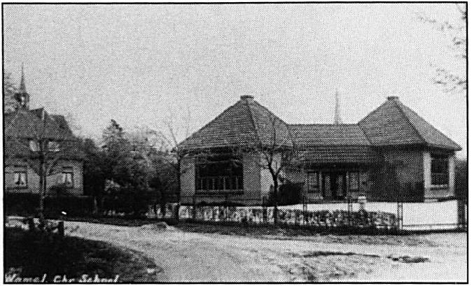 De Christelijke School voor de oorlog.